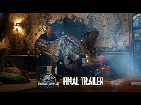 Jurassic World: Fallen Kingdom - Final Trailer [HD]