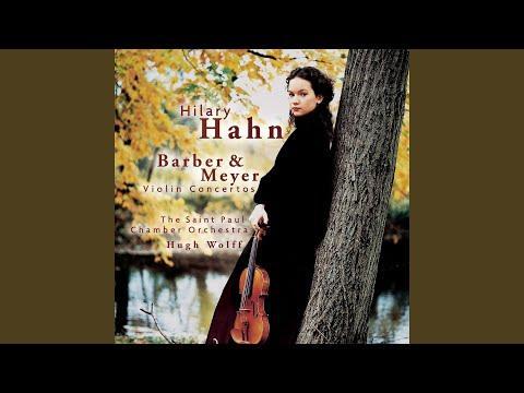 Violin Concerto: I. Romanza