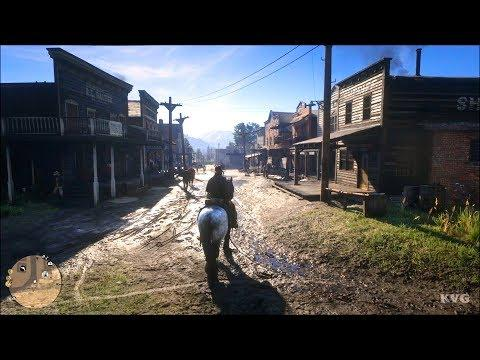 Red Dead Redemption 2 - Open World Free Roam Gameplay (PS4 HD) [1080p30FPS]