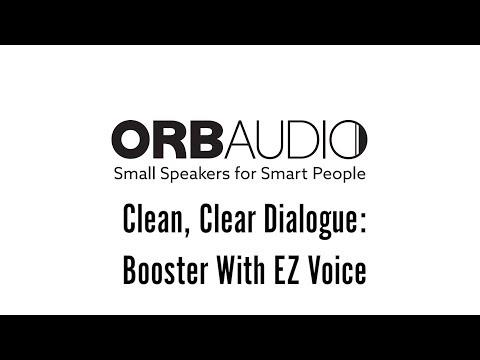 Clean, Clear Dialogue: Booster With EZ Voice