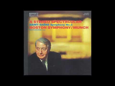 Saint-Saens Symphony No 3 / Munch, Boston Symphony (JMCXR-002) 1959/2009