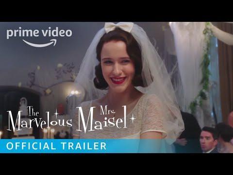 The Marvelous Mrs. Maisel Season 1 - Official Trailer [HD]   Prime Video