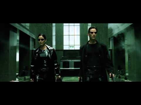 Matrix Lobby Scene Shootout (HD)