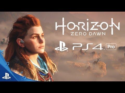 Horizon Zero Dawn - Gameplay Trailer   PS4 Pro 4K