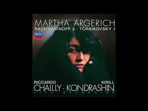 Martha Argerich Rachmaninov Piano Concerto No. 3