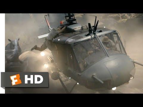 Jumanji: Welcome to the Jungle (2017) - Helicopter Rhino Chase Scene (6/10)   Movieclips