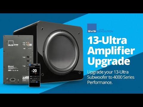 SVS 13-Ultra Subwoofer Amplifier Upgrade Installation Tutorial